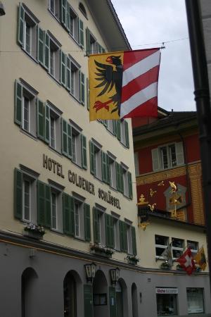 Hotel Restaurant Goldener Schlüssel: Jolie facade