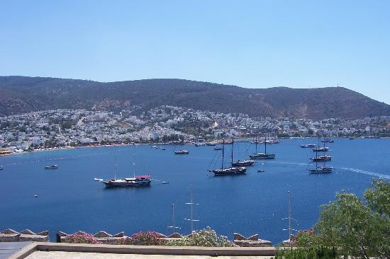 Hotel Baia Bodrum: view from bodrum castle