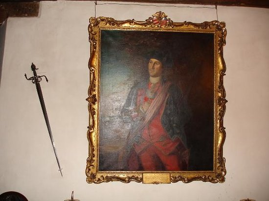 Sulgrave Manor: Portrait of a young George Washington