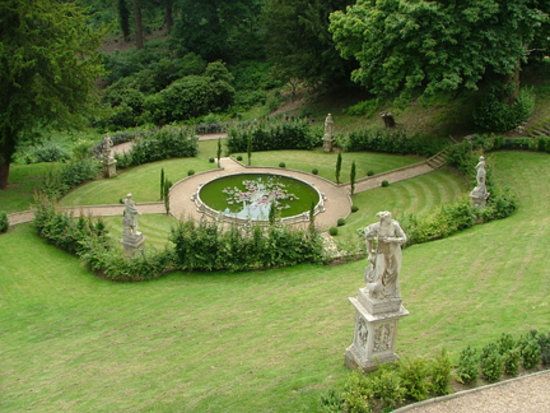 Belvoir Castle: One of the gardens