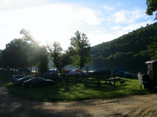 Kittatinny Campgrounds: camp site
