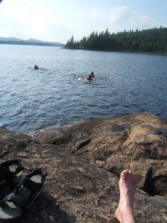 Mont Tremblant, แคนาดา: Un bon moment de détente et de calme