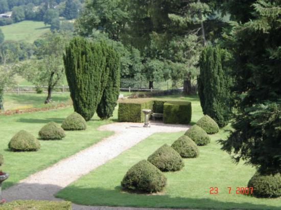 Chateau de la Vigne: the gardens