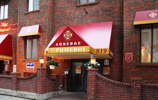 Auberge Le Pomerol : Pomerol Entrance