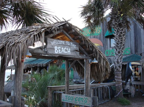 Mexico Beach, FL: Toucan's from Hwy 98