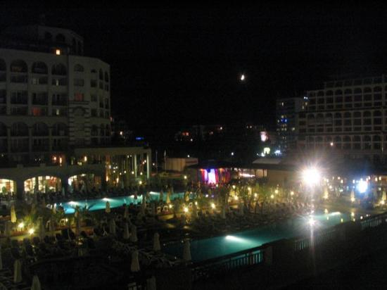 Iberostar Sunny Beach Resort: Pools @ Night