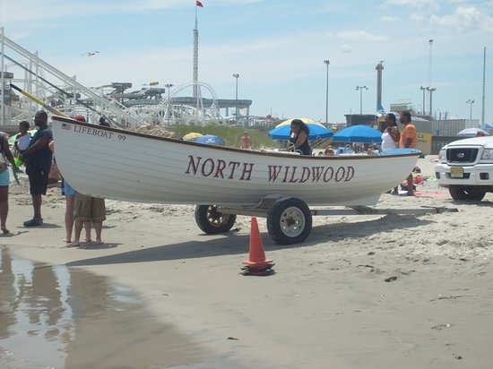 ‪‪North Wildwood‬, نيو جيرسي: North Wildwood Lifeguard Boat‬
