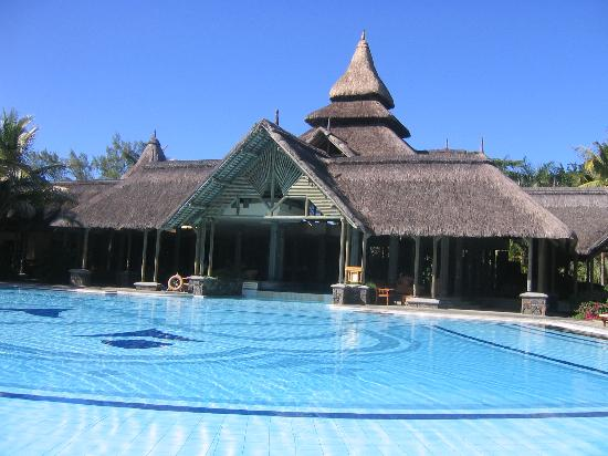 Shandrani Beachcomber Resort & Spa: Main Pool