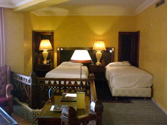 Palmeraie Palace: Room view