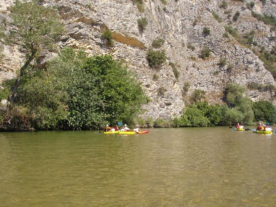 Xanthi, Greece: Nestos kanoe- kayak