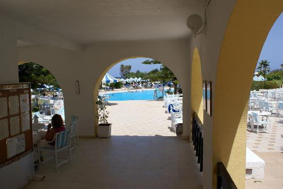 IBEROSTAR Diar El Andalous: Looking out to the Pool.