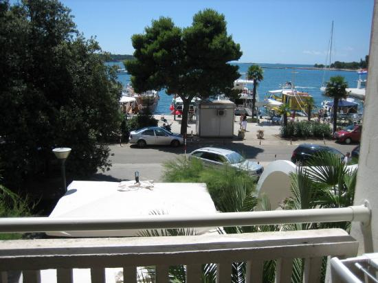 Valamar Riviera Hotel & Residence: View from room balcony
