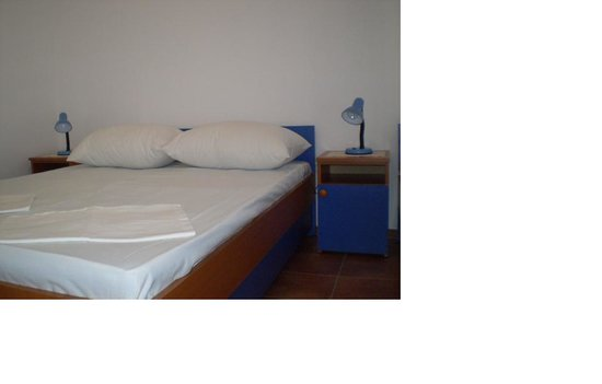 Apartments Montenegro: A double bed