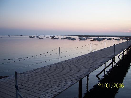 Atardecer en playa Faro