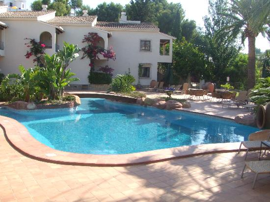 Moraira, Spain: Our room on right hand side