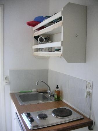 Epistudios Matsas Windmill: kitchen