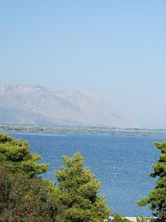 Mesolongion, Grèce : Another view from the balcony