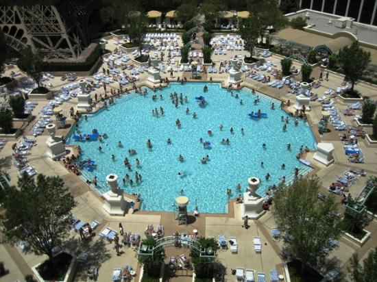View Of Pool Picture Of Paris Las Vegas Las Vegas Tripadvisor