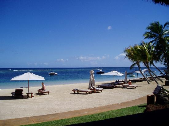The Oberoi, Mauritius: La playa del Hotel Oberoi