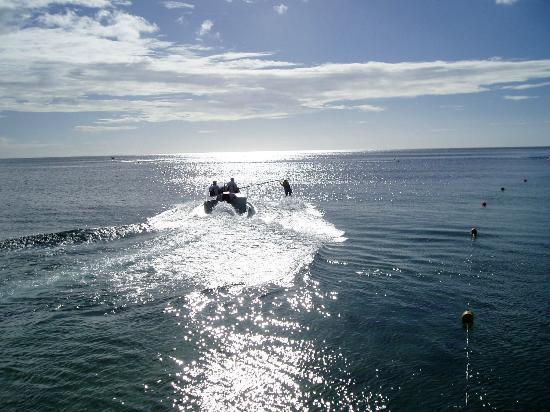 The Oberoi, Mauritius: Ski Acuatico al atardecer