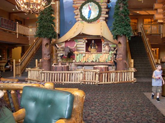 Great Wolf Lodge : lobby of the hotel