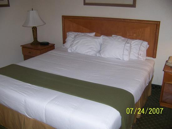 Holiday inn Express Hotel & Suites: huge bed