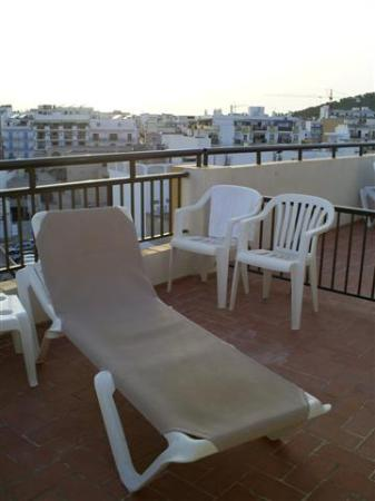 Hotel Orosol: The Terrace