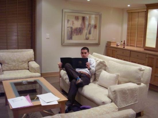 Fancourt: Sitting room