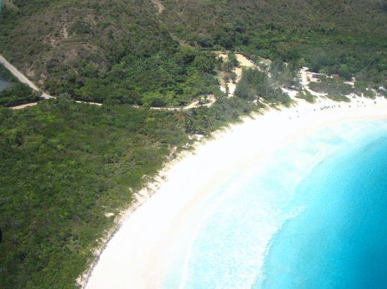 Playa Flamenco: Plane ride