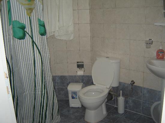 Hotel Atlantida Villas: The bathroom