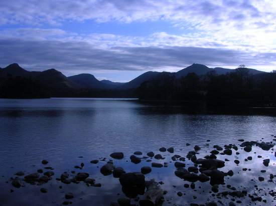 Keswick, UK : Lake Derwent at Dusk