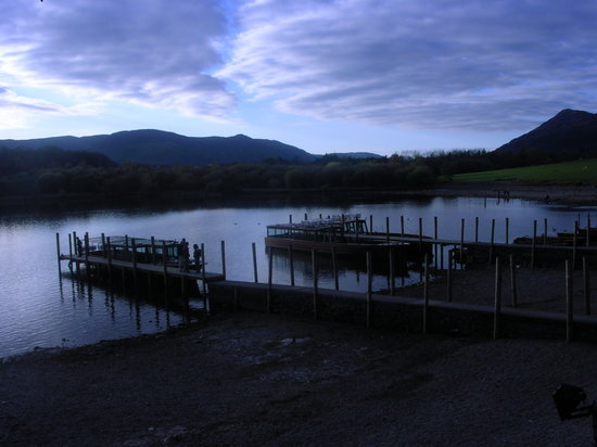 Keswick, UK : Boat Launch at Lake Derwent
