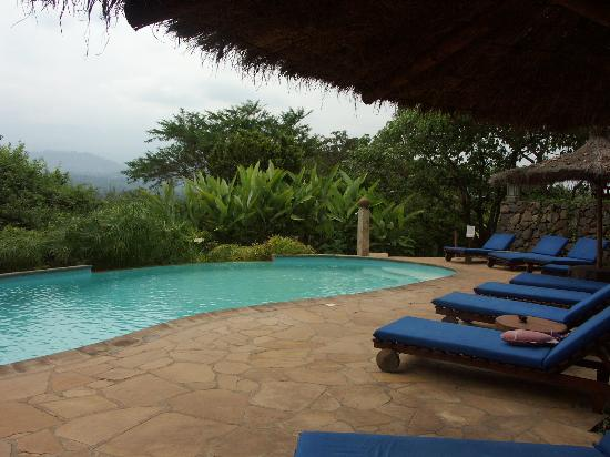 Kigongoni Lodge: The pool area