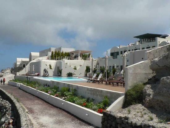 Anastasis Apartments: Hotel and path to Oia and Fira