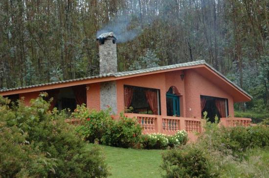 Ali Shungu Mountaintop Lodge: our house