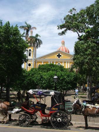 plaza central, Granada