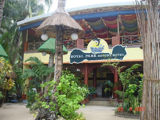 Boracay Royal Park Hotel: lobby