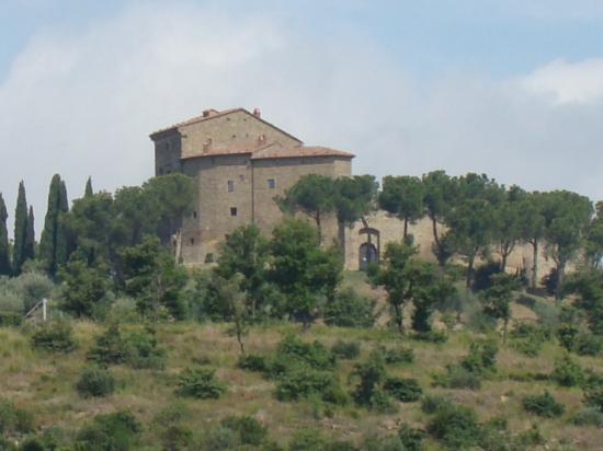 Tuoro sul Trasimeno, Italie : Castello di Montegualandro