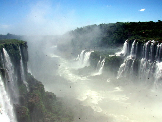 Iguazu National Park, Argentinië: The Devil's Throat