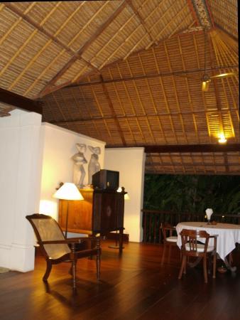 Plataran Canggu Resort & Spa : Autre vue du  salon extérieur