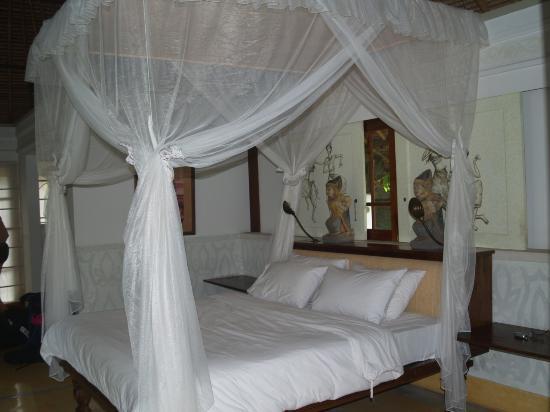 Plataran Canggu Resort & Spa : Chambre de la villa Kubu