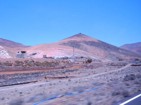 Fuerteventura, İspanya: Mountains