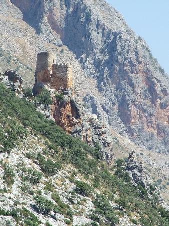Torres, Spanien: Vista de paisaje de Sierra Mágina