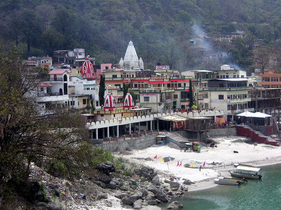 ‪ريشيكيش, الهند: Temples at Rishikesh‬