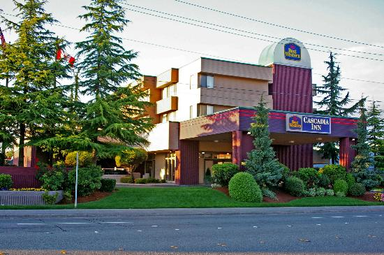 Best Western Cascadia Inn : Entrance