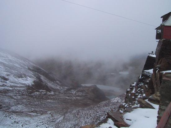Chacaltaya Ski Resort : view chacaltaya