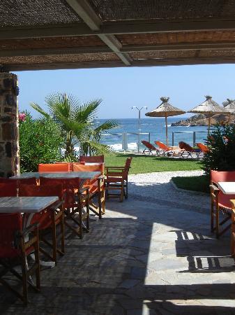 Ammos Hotel : Restaurant View