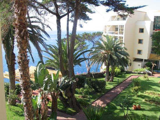 Pestana Palms: view from our apartment towards sea