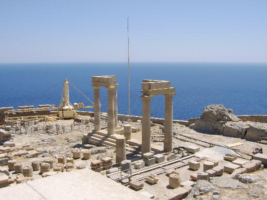 Sylvia Hotel: Acropolis @ Lindos