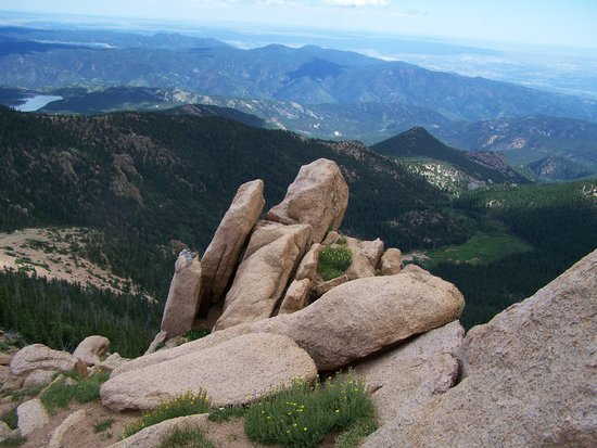 Colorado Springs, Kolorado: ROCKS N VIEW AT PIKES PEAK